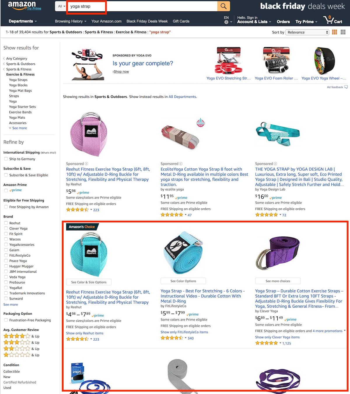 amazon search keywords
