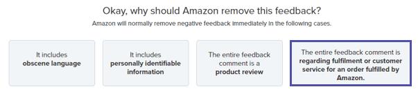 amazon review remove