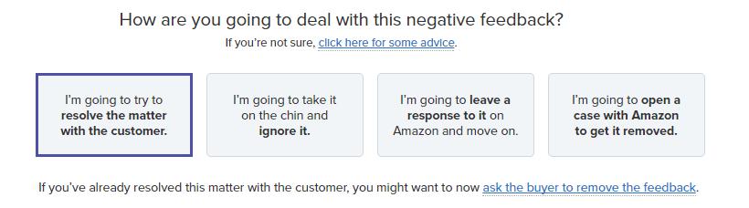 remove negative review