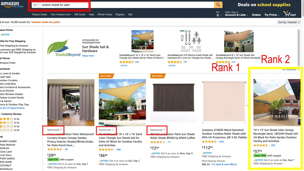 amazon rank tracking