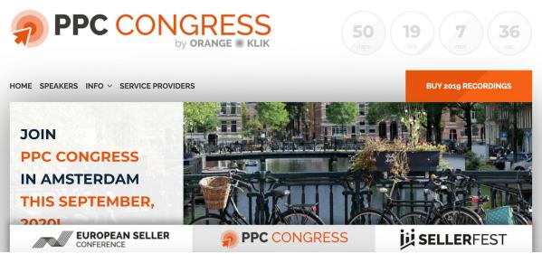 PPC Congress Amsterdam 2020