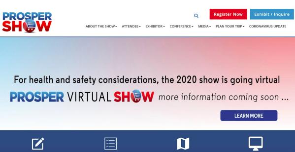 Prosper Show Conference Las Vegas 2020