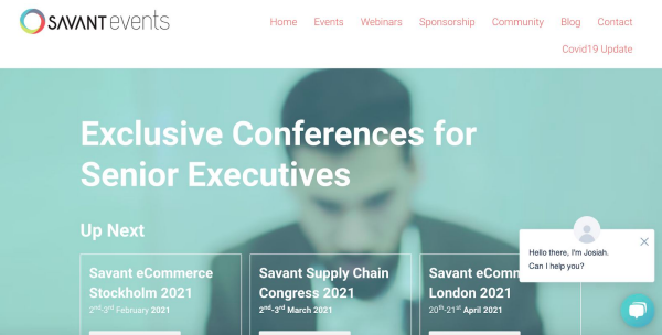 Savant Events Exclusive Conferences