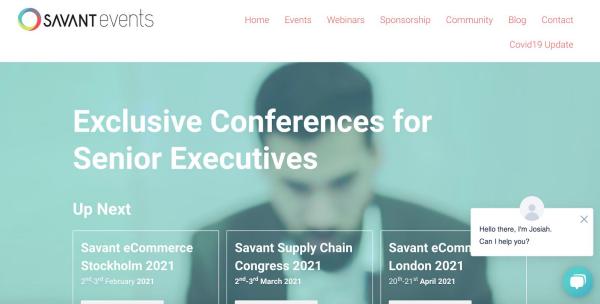 Savant Events Exclusive Conferences